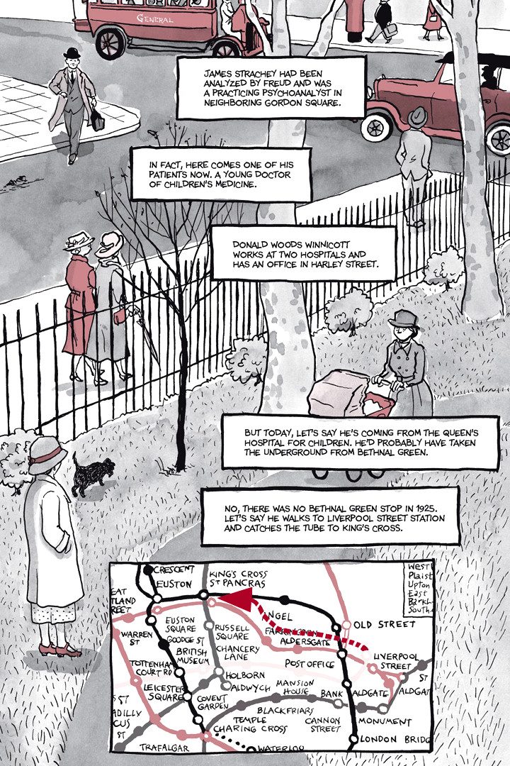 Page 25, Chapter 1: Ordinary Devoted Mother from Alison Bechdel's graphic novel Are You My Mother