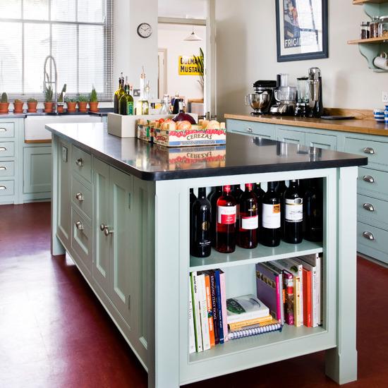 39 Kitchen Island Ideas With Storage: New Home Interior Design: Kitchen Islands