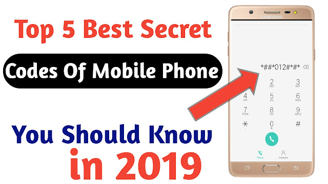 Top 5 Best Secret Codes For Android 2019