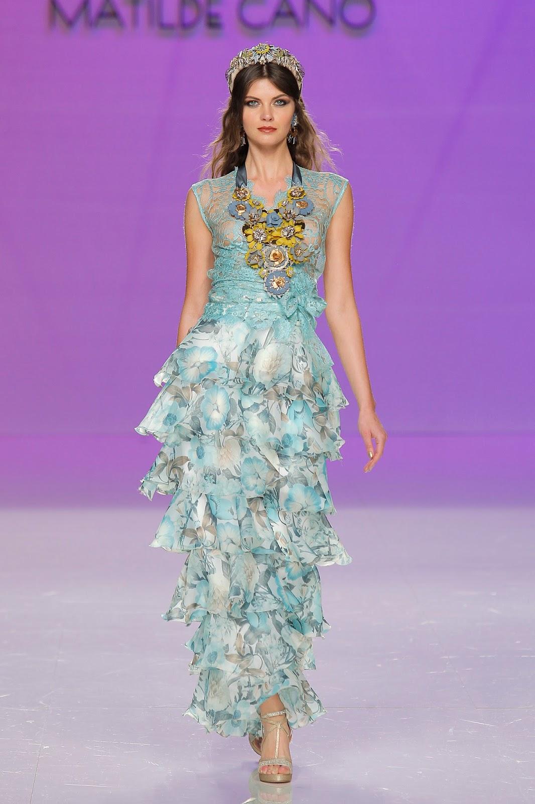 BODAS DE ALTA COSTURA: Los vestidos de fiesta de Matilde Cano ...