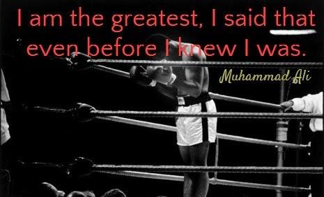 Confidence Muhammad Ali