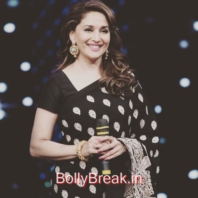 the golden lady of bollywood, madhuri dixit , is an eternal style icon. one word to describe her style?, Madhuri Dixit Hot Pics From Different Events