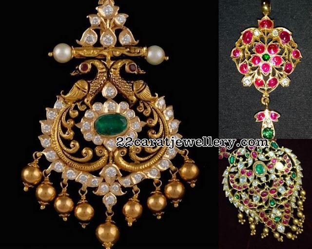 Radiant Kundan Pendant Sets