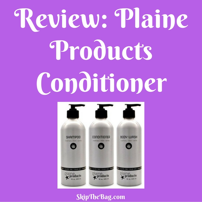 Review: Plaine Products Conditioner