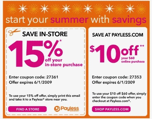 image regarding Payless Shoes Printable Coupon referred to as Payless shoe retailer discount codes on-line / Jojo maman bebe coupon code