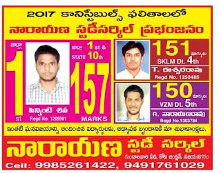 Narayana study Circle vijayanagaram