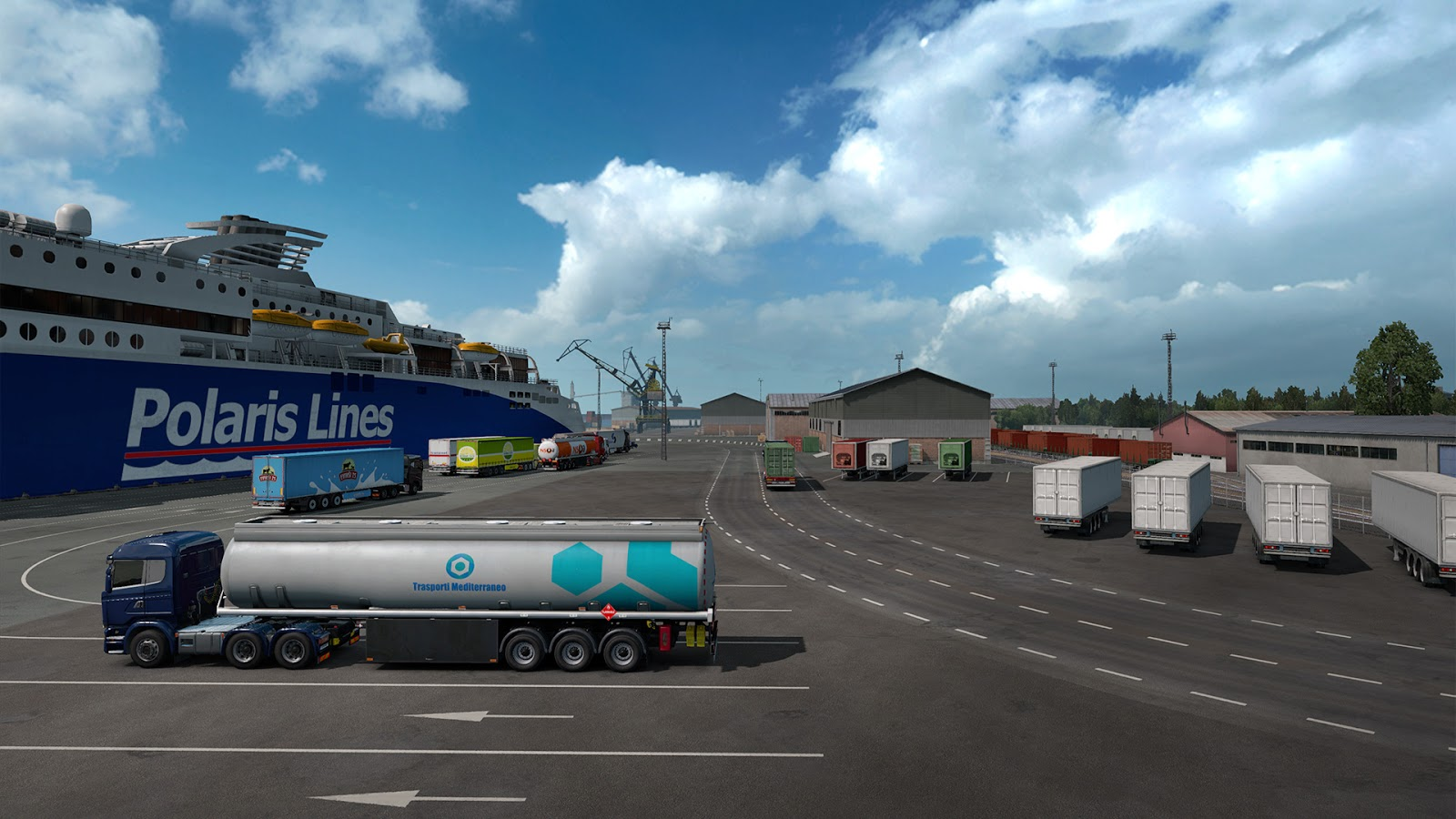 SCS Software's blog: Baltic Ports