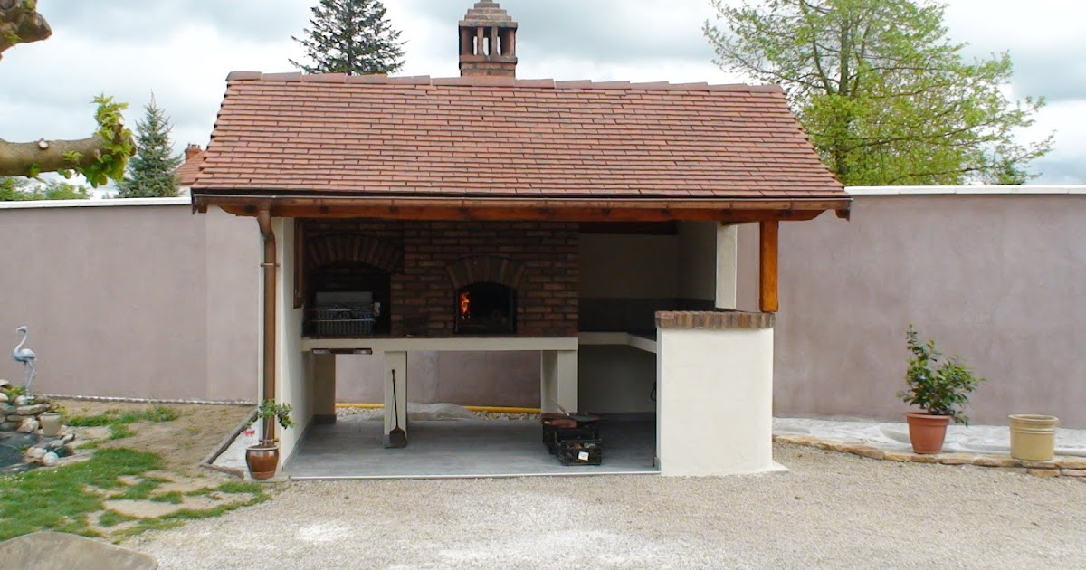 Construction et fabrication de po les de masses ma onn s for Construire barbecue exterieur