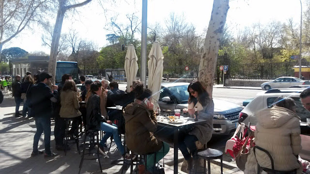 Terraza de La Chelo, Tusolovive Madrid