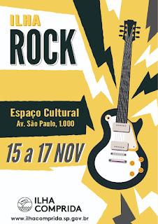 Shows, gastronomia e artesanato no Ilha Rock , entre os dias 15 e 17/11
