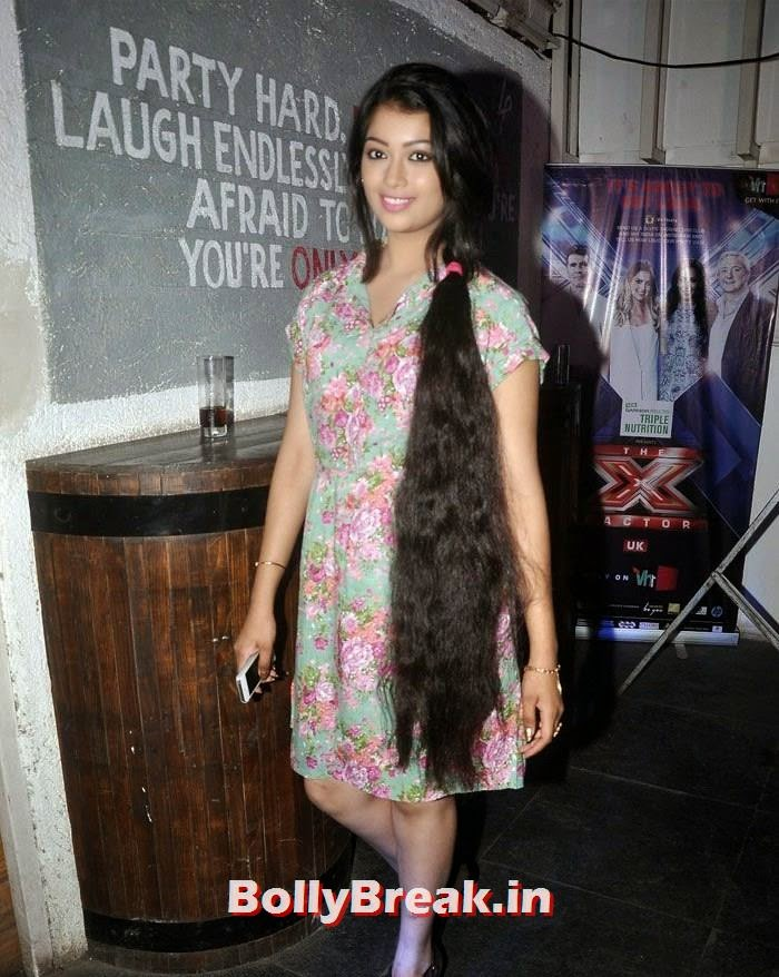 Digangana Suryavanshi knee length long hair photo, Digangana Suryavanshi Knee Length Long Hair Photos