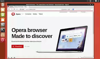 Opera Web Browser Free VPN Service