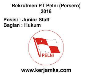 Lowongan Kerja Hukum - Junior Staff PT PELNI (Persero)