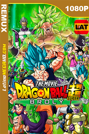 Dragon Ball Super: Broly (2018) Latino HD BDRemux 1080P - 2018