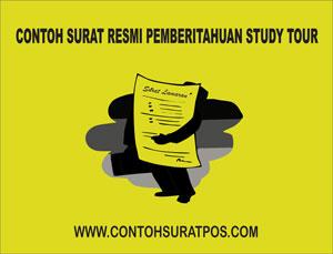 Gambar untuk Contoh Surat Resmi Pemberitahuan Study Tour