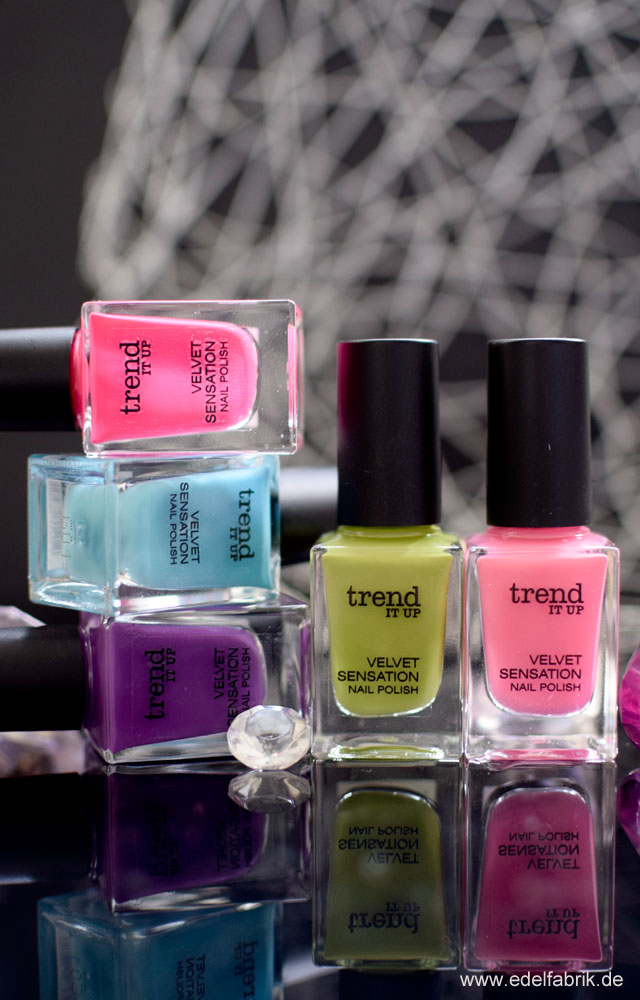 trend IT UP neue Theke, Velvet Sensation, Nagellack