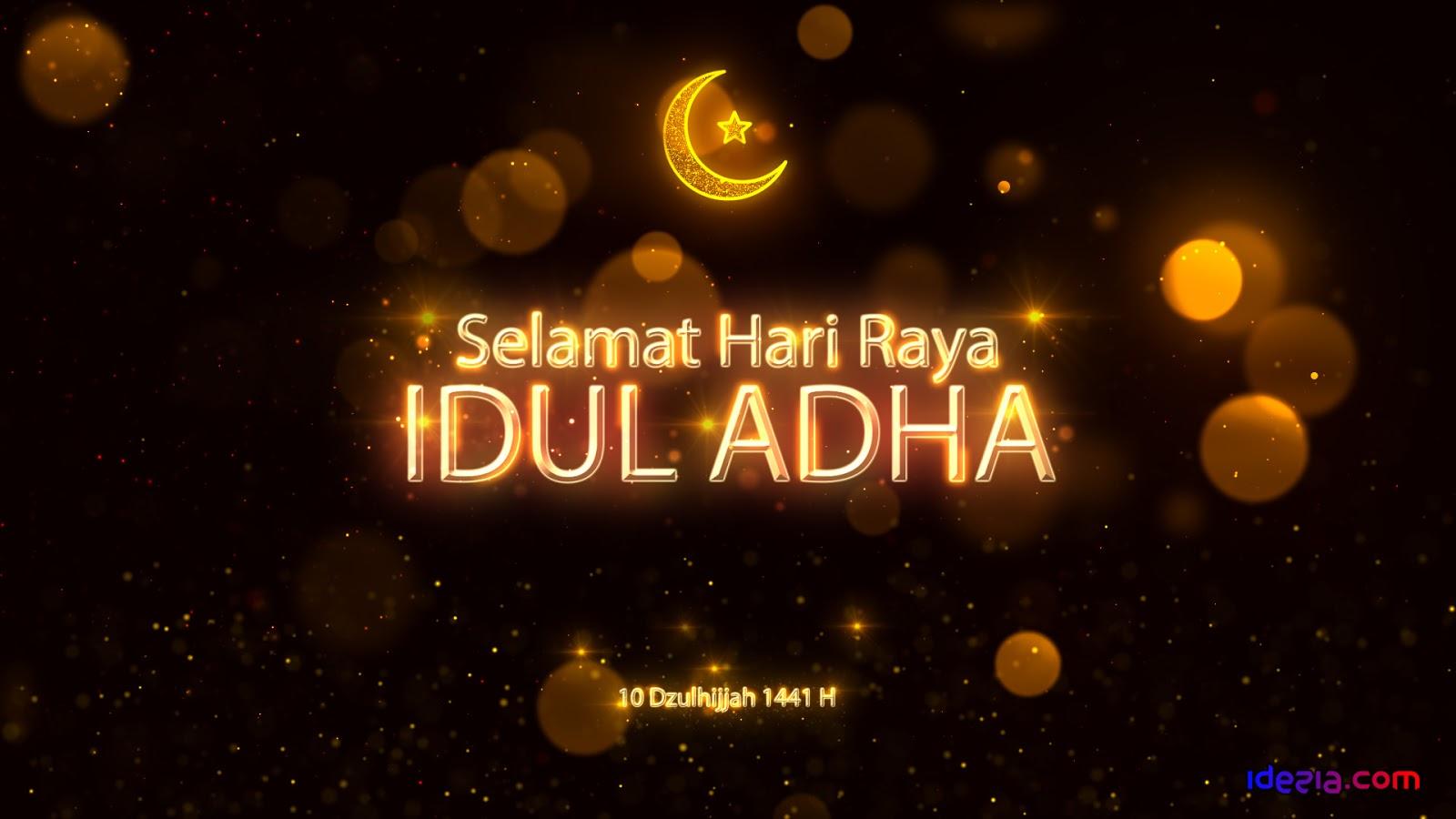 Gambar Ucapan Selamat Idul Adha Terbaru 2020 1441 Hijriyah Idezia