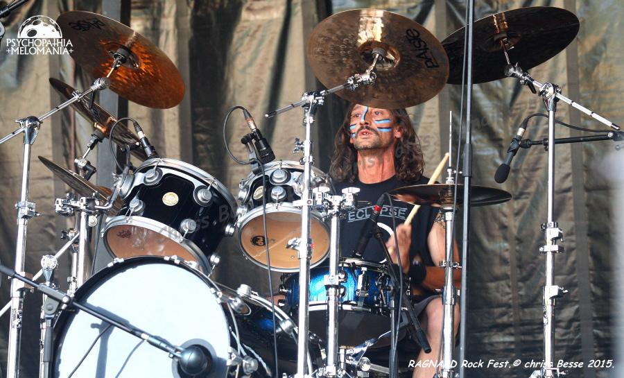 Eclypse @Ragnard Rock Fest 2015, Simandre-sur-Suran 17/07/2015