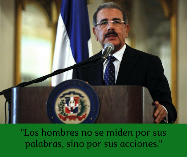 Una peticion a mi presidente Danilo Medina