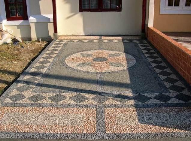 Carport Rumah Minimalis Type 30 Batu sikat