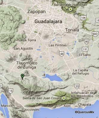 Cañón el Mante, en Tlajomulco de Zúñiga  Alto riesgo para personas con poca experiencia