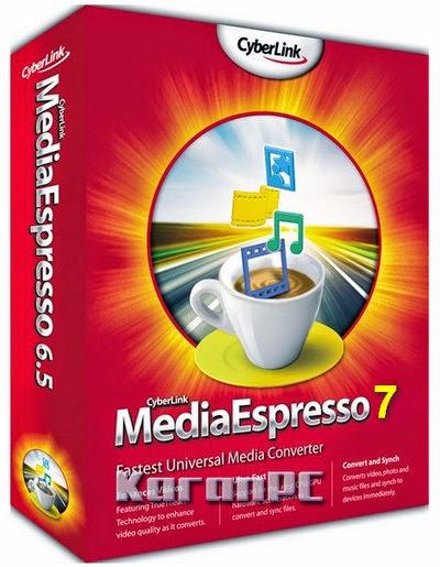 CyberLink MediaEspresso 7.0.5417.54129 + Crack