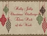 top of the week chez Holly Jolly.