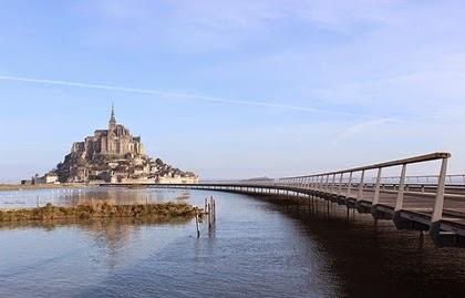 วิหารมงต์แซงต์ มิแชล (Mont Saint-Michel)