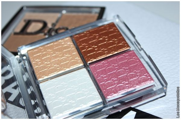 Glow Face Palette, Dior Backstage - Avis blog beauté - Marseille