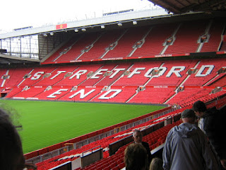 View of Stretford End from the North Stand