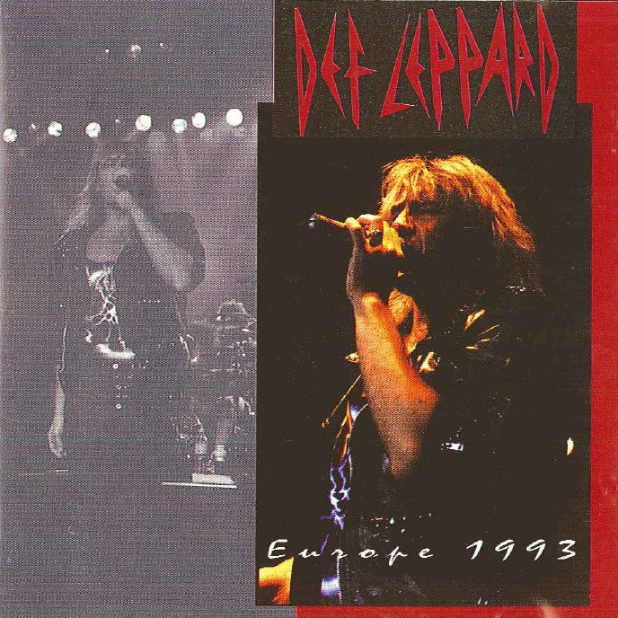 Def Leppard - Europe 1993