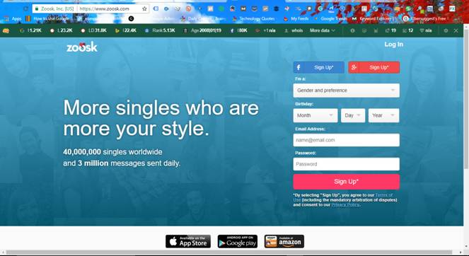 is zoosk free to message