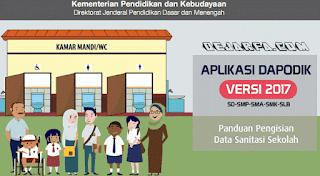 Panduan Pengisian Sanitasi Sekolah Versi Dapodik 2017 dejarfa.com