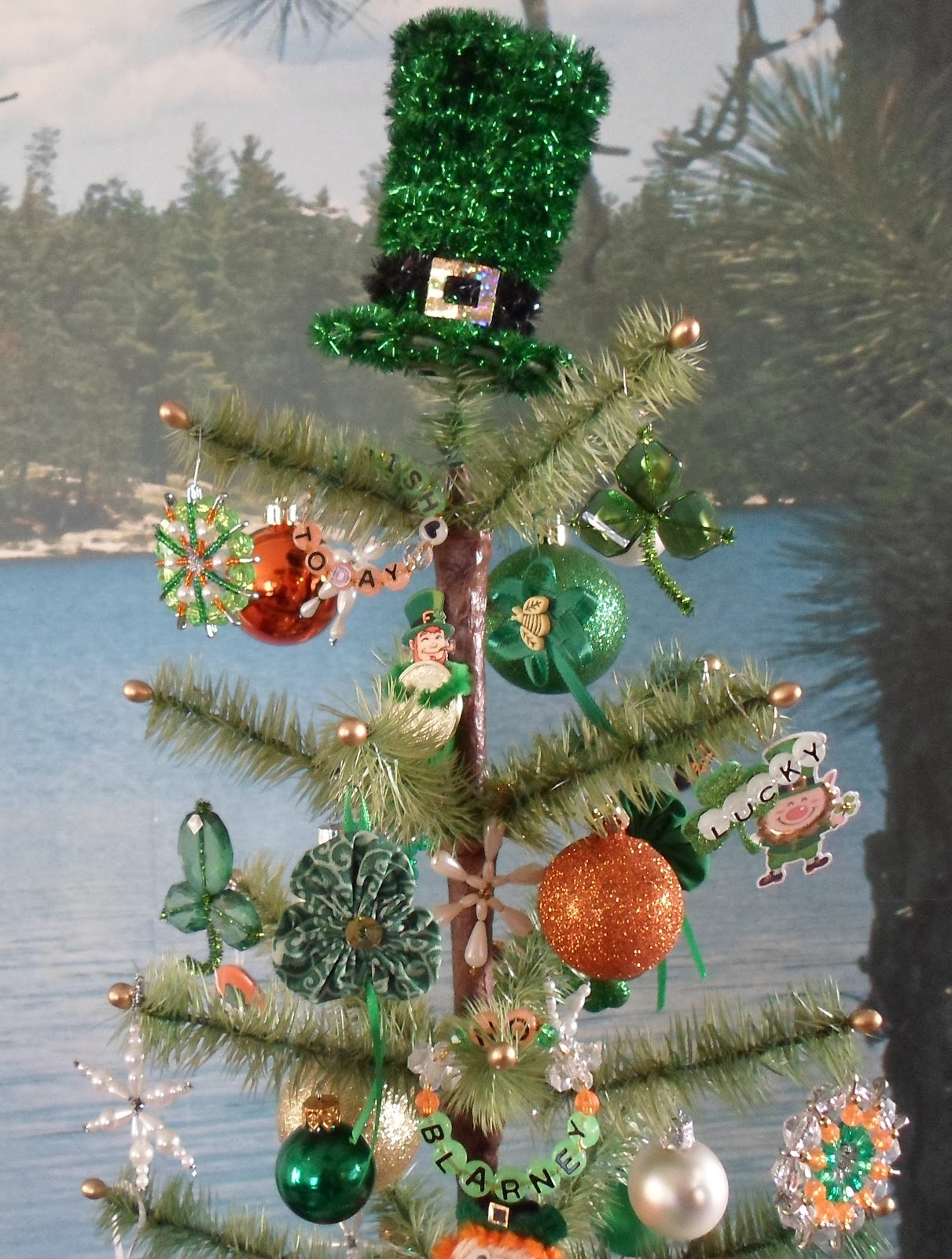 Happier Than A Pig In Mud: St. Patrick's Day Tree 2017