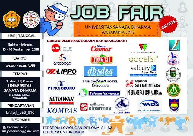 Job Fair Universitas Sanata Dharma