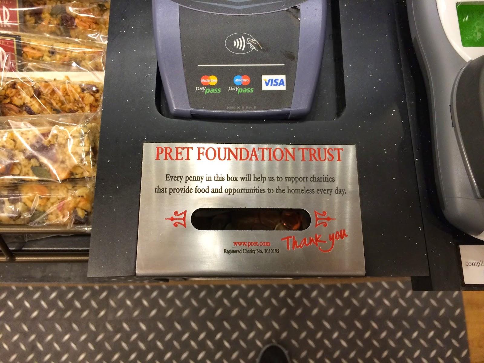 Pret A Manger Foundation Trust Brunel Engraving