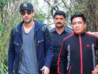 Ranbir Kapoor in Darjeeling
