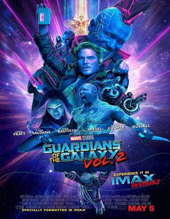 Guardians of the Galaxy Vol 2 2017 Hindi Dual Audio BRRip Full Movie Download