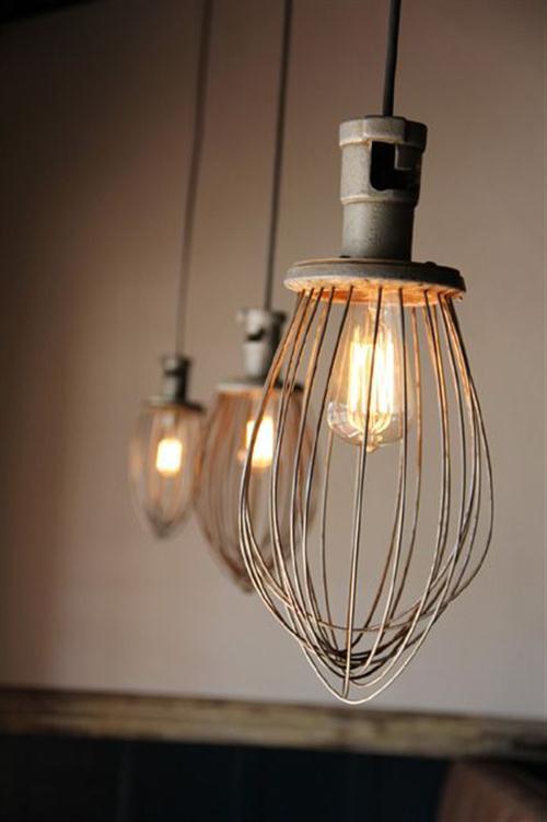 diy luminária cozinha