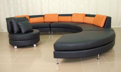 Circular Sofa Sets Design Ideas