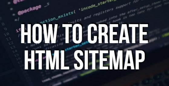 html sitemap blogger