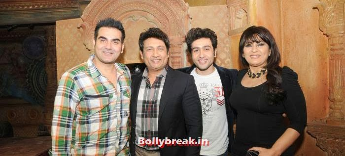 Arbaaz Khan, Shekhar Suman, Adhyayan Suman, Archana Puran Singh, Ariana Ayam for 'Heartless' Promotion on Comedy Circus