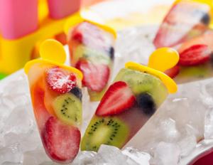 Resep cara membuat ice cream buah