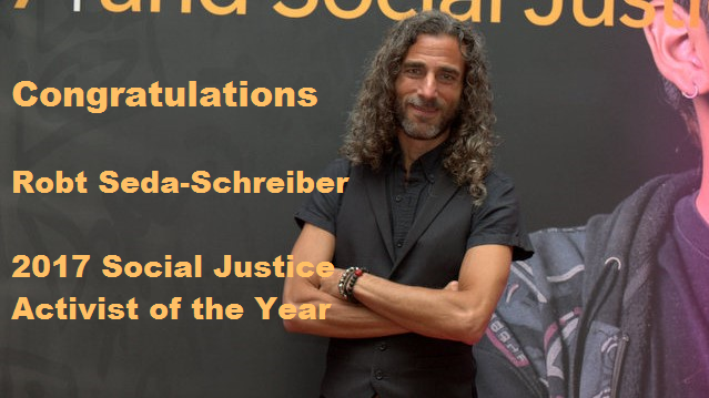 I am thrilled & honored to be the NEA Social Justice of the Year!