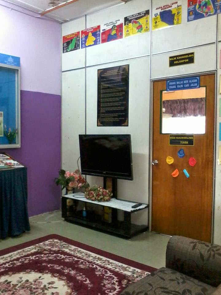 Kaunselor Nurhaiza Che Mat Deco Bilik Kaunseling