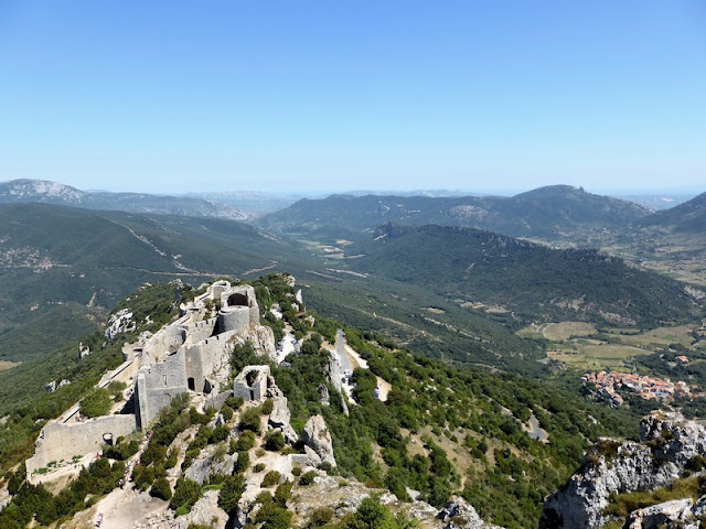 Fortaleza Real de Peyrepertuse, Peyrepertuse Royal Fortress