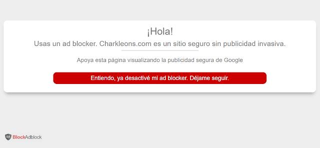 Cómo bloquear Adblock en Blogger