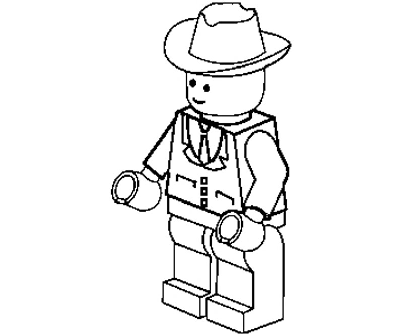 Girl lego free colouring pages for Girl lego coloring pages