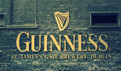 Guinness sign Dublin brewery