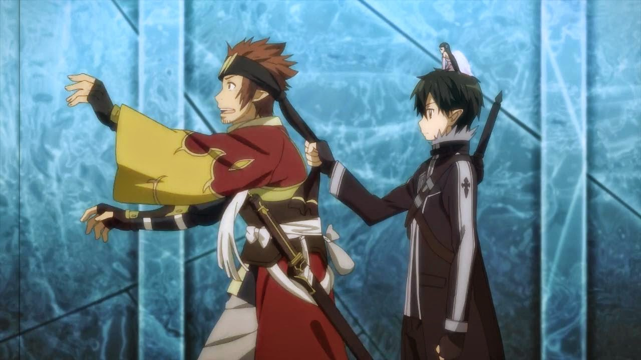 Bildergebnis für sword art online kirito welcome